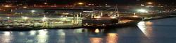 Balazs Kiss, Wellington, New Zealand by Night, the shipyard